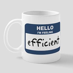 Feeling efficient Mug