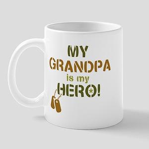 Dog Tag Hero Grandpa Mug