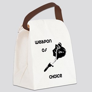 Weapon of choice turntable Canvas Lunch Bag