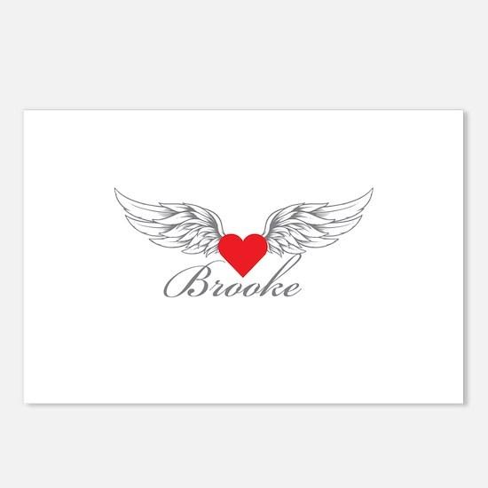 Angel Wings Brooke Postcards (Package of 8)
