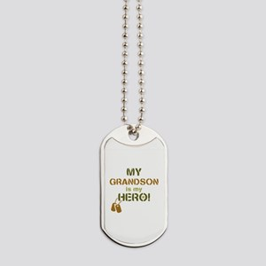 Dog Tag Hero Grandson Dog Tags