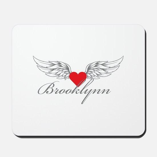 Angel Wings Brooklynn Mousepad