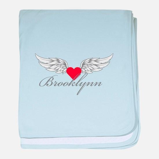 Angel Wings Brooklynn baby blanket