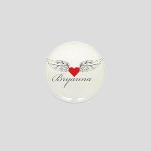 Angel Wings Bryanna Mini Button