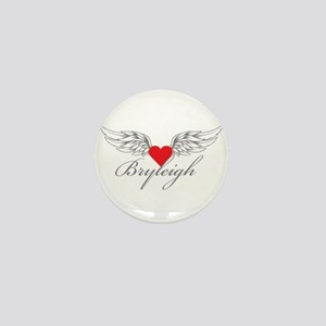 Angel Wings Bryleigh Mini Button