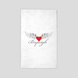 Angel Wings Bryleigh 3'x5' Area Rug