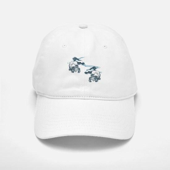 Karajishi and Wave Baseball Baseball Cap
