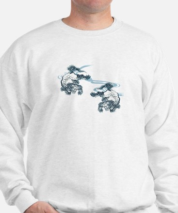Karajishi and Wave Sweatshirt