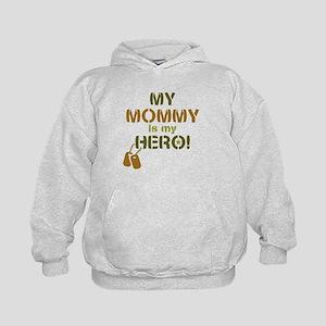 Dog Tag Hero Mommy Kids Hoodie