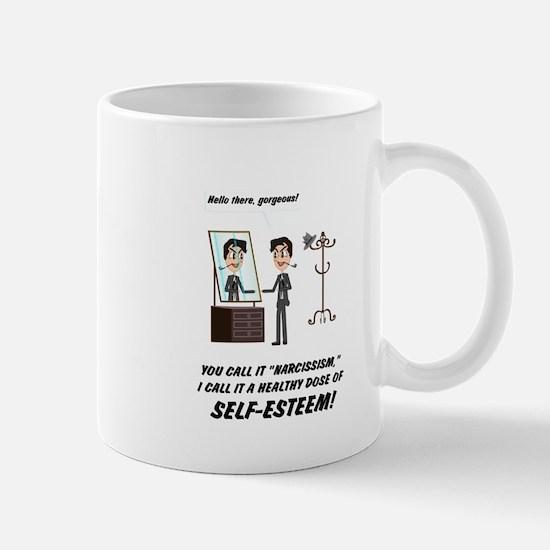 Narcissism or self-esteem Mugs