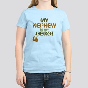 Dog Tag Hero Nephew Women's Light T-Shirt