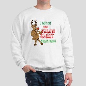 Sydney the Sweater Spirit Reindeer Sweatshirt