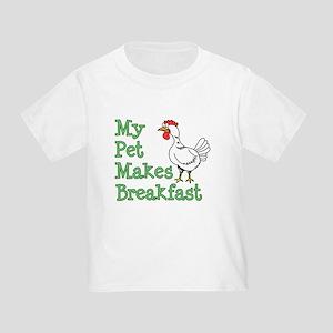 Pet Makes Breakfast T-Shirt