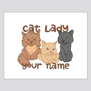 Personalized Cat Lady Posters