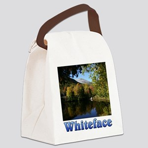 Whiteface P 10x10 Canvas Lunch Bag