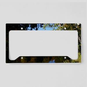 Whiteface P mini poster License Plate Holder