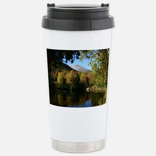 Whiteface P mini poster Stainless Steel Travel Mug