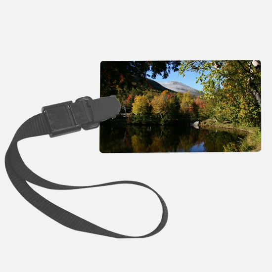 Whiteface P mini poster Luggage Tag