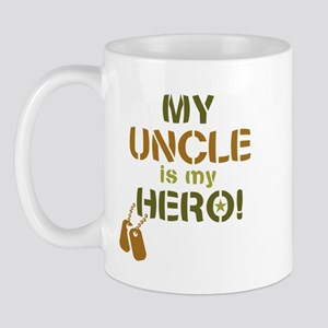 Dog Tag Hero Uncle Mug