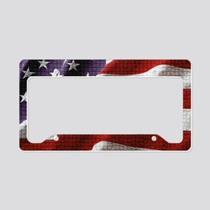 Hope Chg flag sticker License Plate Holder