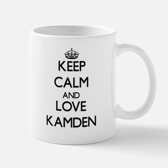 Keep Calm and Love Kamden Mugs