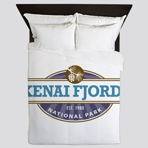 Kenai Fjords National Park Queen Duvet