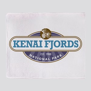 Kenai Fjords National Park Throw Blanket