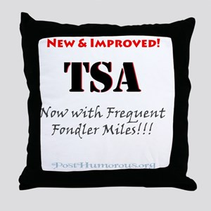 frequent2 Throw Pillow
