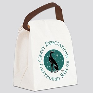 Winter Pip Canvas Lunch Bag