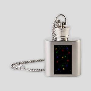 MinPinLightsFront2 Flask Necklace