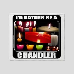 IdRatherBeAChandler Throw Blanket