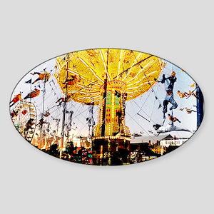 Circus1 Sticker (Oval)