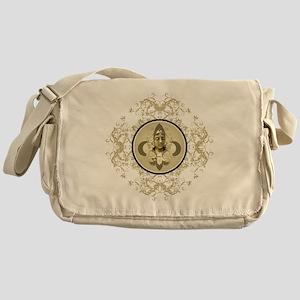 fleurAngelRScrLgTR Messenger Bag