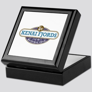Kenai Fjords National Park Keepsake Box