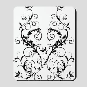 fleurAScrollBdbTR Mousepad