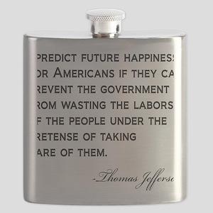 Jefferson-(future-happiness)-white-shirt Flask