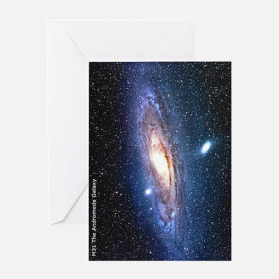 M31 andromeda galaxy hubble Ipad cas Greeting Card