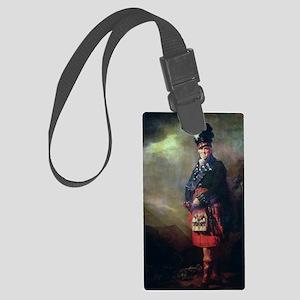 The MacNab by Sir Henry Raeburn Large Luggage Tag