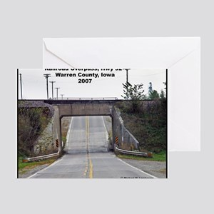 RR-RR Overpass 2007 Greeting Card
