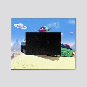 Toy Space Tank Picture Frame
