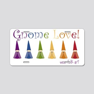 gnome-love Aluminum License Plate