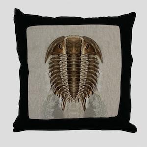trilobite2symIPd Throw Pillow