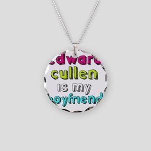 Edward Boyfriend -dk Necklace Circle Charm