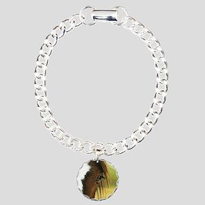 gypsyeyeround Charm Bracelet, One Charm
