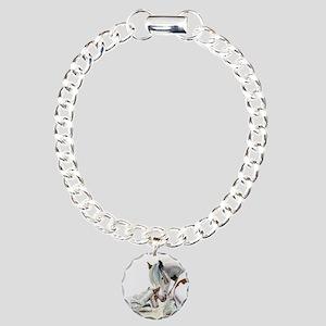 gypsyfoalwcround Charm Bracelet, One Charm