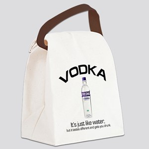 vodka shirt copy Canvas Lunch Bag