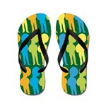 Tuba Player Marching Band Flip Flops
