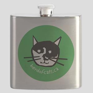 HOCP logo ornament 2 Flask
