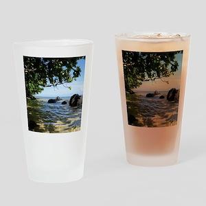 NoteCardFront_0008_waterundertrees Drinking Glass
