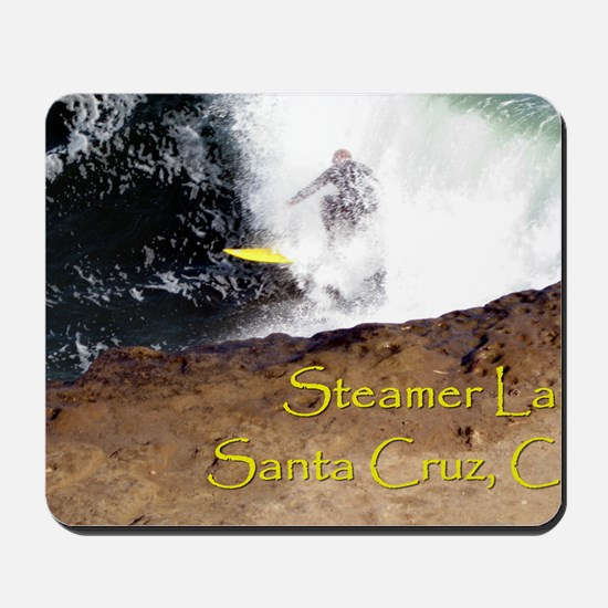 Steamer Lane Enhanced Mousepad